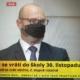 Ministr Plaga na tiskové konferenci